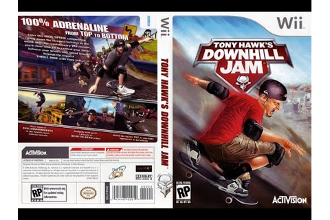 Tony Hawks Downhill Jam (Wii) - YouTube