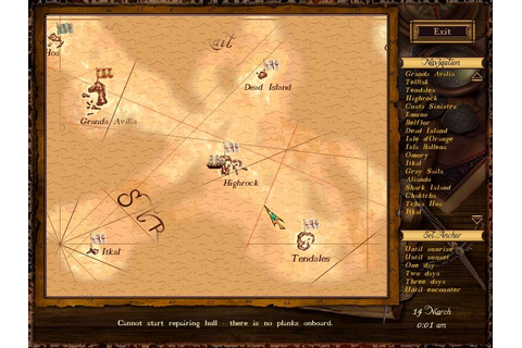 Sea Dogs Screenshots for Windows - MobyGames