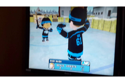 Backyard hockey 2005 (Champion Game) - YouTube