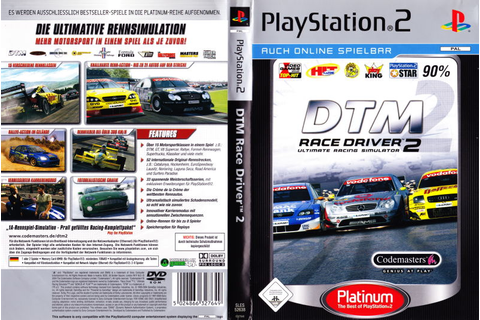 TOCA Race Driver 2 (2004) PlayStation 2 box cover art ...