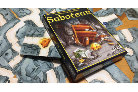 Review: Saboteur | Shut Up & Sit Down