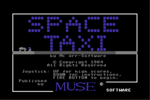 Download Space Taxi (Commodore 64) - My Abandonware