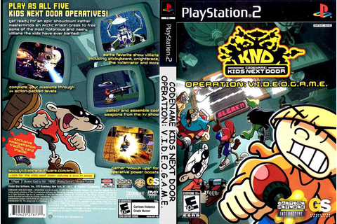 JC VIDEO PS2: CODINOME: OPERATION VIDEO GAME KND