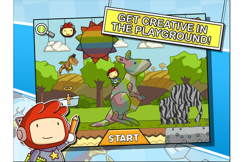Scribblenauts Remix iPhone game app review | AppSafari