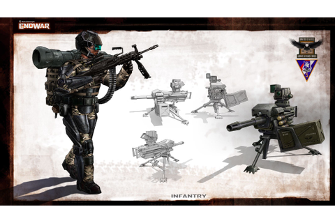 jsf infantry - Game: Tom Clancy's End War | Endwar units ...
