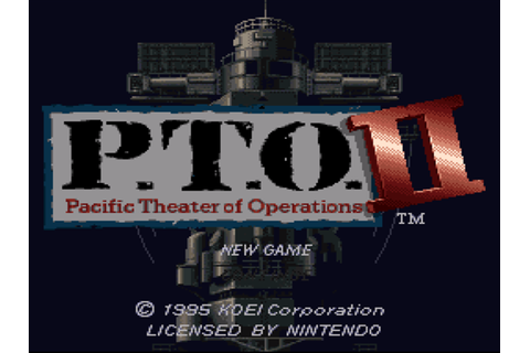 P.T.O.: Pacific Theater of Operations II Screenshots ...