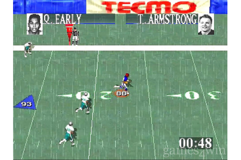 Tecmo Super Bowl Download on Games4Win
