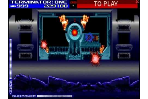 Skynet from T2: Arcade Game - YouTube