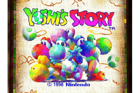 Yoshi's Story Download Game | GameFabrique
