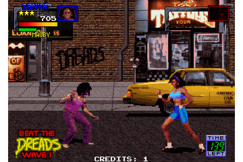 Guardians of the 'Hood (1992) Arcade game