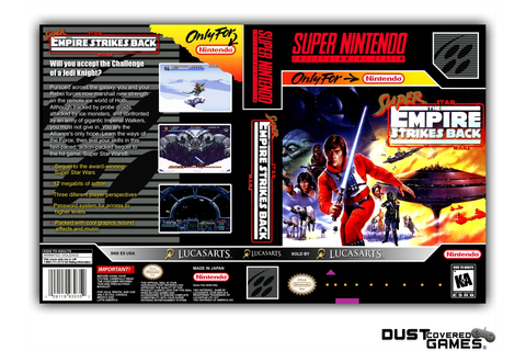 Super Star Wars: The Empire Strikes Back SNES Super ...