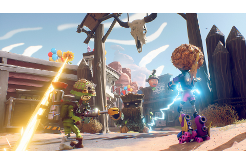 Plants vs. Zombies: Battle for Neighborville Game | PS4 ...