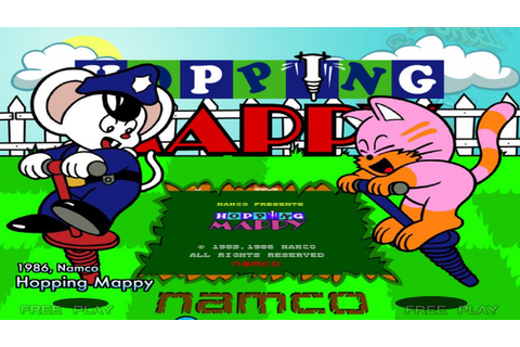 Hopping Mappy With Max and Igraine - YouTube