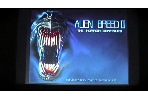 Alien Breed 2: The Horror Continues AGA A1200 A4000 Game ...