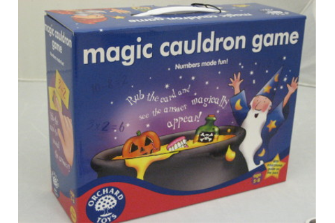 The Maths Zone at Education Interactive • Magic Cauldron Game
