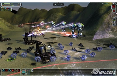 Supreme Commander: Forged Alliance (2007) (VG) Video Game