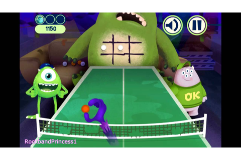 Monsters University Games Online - Tic Tac Throw Game ...