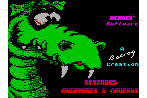 Indie Retro News: Retarded Creatures and Caverns - ZX ...