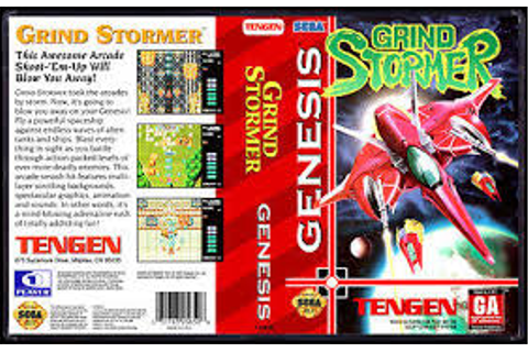 Retro Video Games Zone!: Grind Stormer - Genesis Review