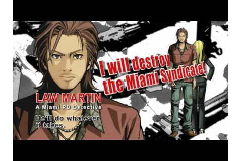 Miami Crisis Nintendo DS video game trailer Law and ...