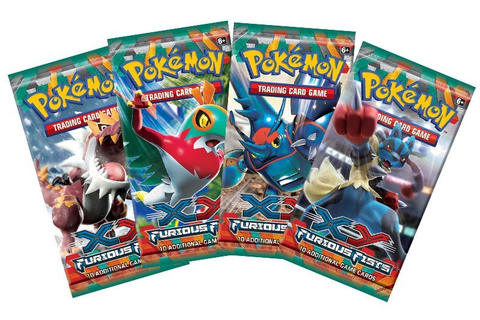 Pokemon Trading Card Game Online - Furious Fists Pack CD ...