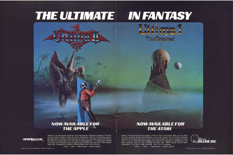 The CRPG Addict: Game 160: Ultima: Escape from Mount Drash ...