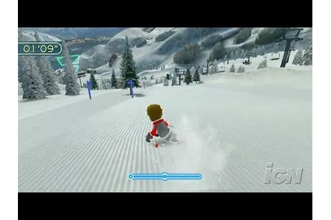 We Ski Nintendo Wii Gameplay - Hit the Gates - YouTube