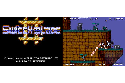 Switchblade II : Hall Of Light – The database of Amiga games