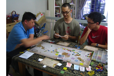 Hiew's Boardgame Blog: Indonesia again