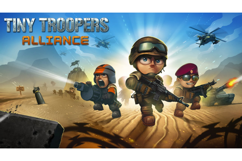 Tiny Troopers Alliance - Official HD Gameplay Trailer ...