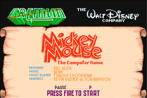Download Mickey Mouse: The Computer Game - My Abandonware