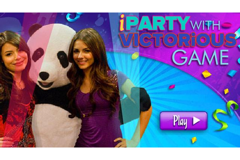 iCarly | iParty With Victorious | Nick-Asia.com