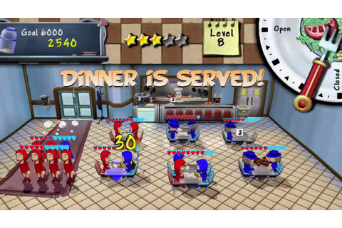 Diner Dash® - gameplay trailer - YouTube