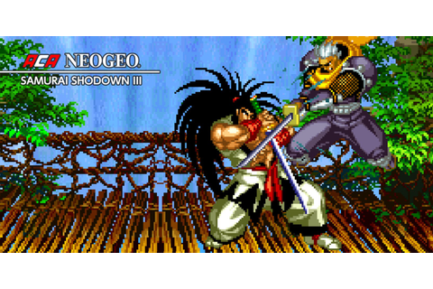 ACA NEOGEO SAMURAI SHODOWN III | Nintendo Switch download ...