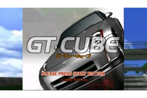 GT Cube (Gamecube Racing Game) - YouTube