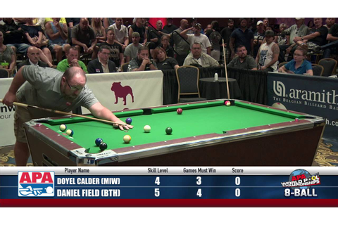 8-Ball World Championship Finals - 2016 APA World Pool ...