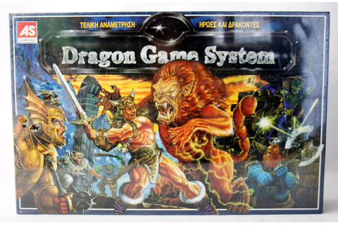 RARE VINTAGE DARK WORLD DRAGON GAME SYSTEM BOARD GAME ...