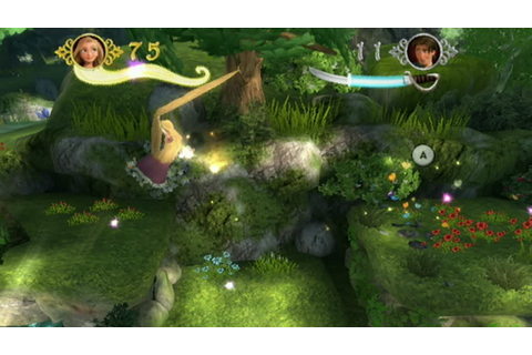 Disney's Tangled: The Video Game (Wii) - Classic Game Room ...