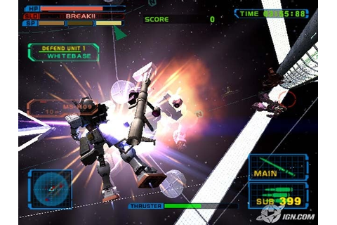 Mobile Suit Gundam: Encounters in Space full game