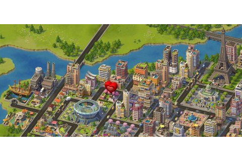 SimCity Social Is a City-Building Video Game - The New ...