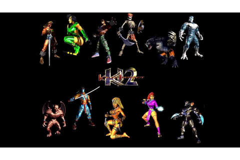 Killer Instinct 2: Combos For All Characters - YouTube