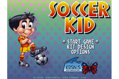 Soccer Kid - The Company - Classic Amiga Games