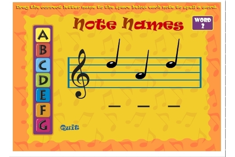 Classics for Kids: Note Name Game | Online Musi...