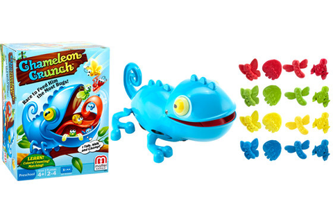 Amazon.com: Mattel Chameleon Crunch Game: Toys & Games