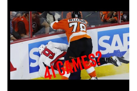 NHL 10+ Game Suspensions - YouTube