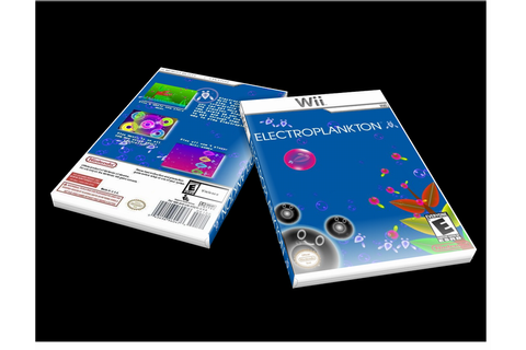 Electroplankton Wii Box Art Cover by Oversoul