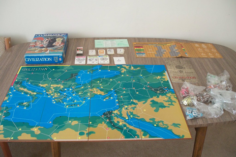 Civilization Board Game (Avalon Hill) | Civilization Board ...