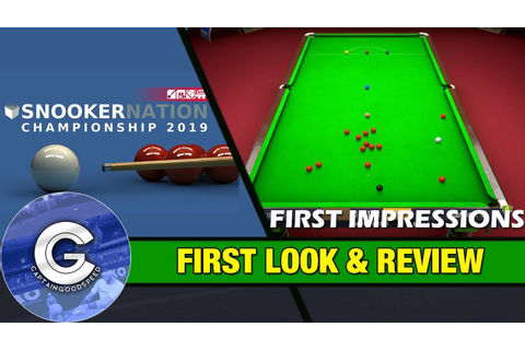 BRAND NEW SNOOKER GAME | Snooker Nation Championship 2019 ...