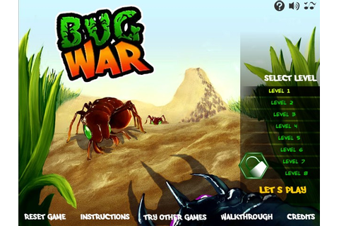 Bug War Hacked (Cheats) - Hacked Free Games