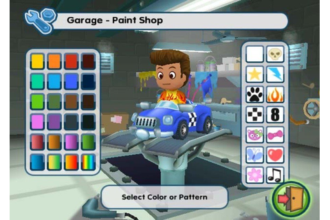 MySims Racing (Wii) Screenshots